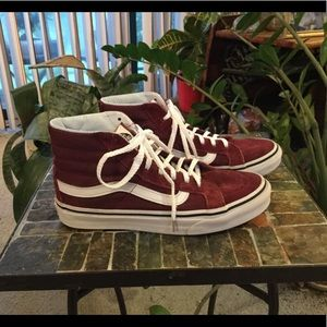 VANS WOMENS SK8 HI TOP SKATE SHOES 5.5